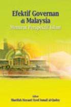 Efektif Governan di Malaysia: Menurut Perspektif Islam