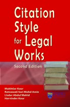 Citation Style for Legal Works
