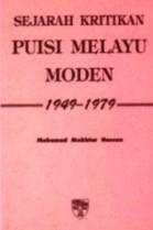 Sejarah Kritikan Puisi Melayu Moden